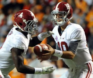 AJ McCarron and TJ Yeldon lead Bama's quest for a three-peat.