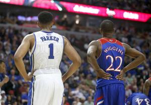 We'll be seeing a lot more of these guys--only in different jerseys. (Charles Rex Arbogast, AP)