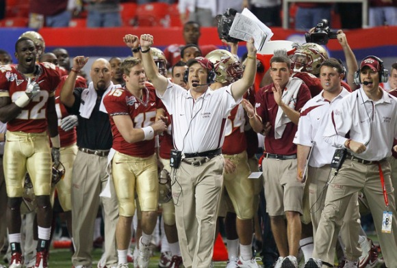 Doesn't Jimbo just sound like the name of a Longhorn coach? (Kevin C. Cox/Getty Images)