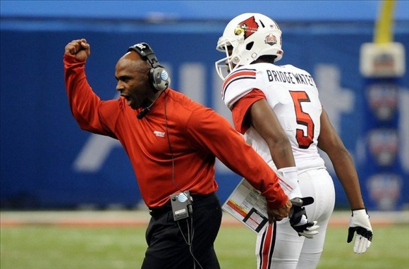Charlie Strong owes his success to Teddy Bridgewater (5), not his coaching abilities.