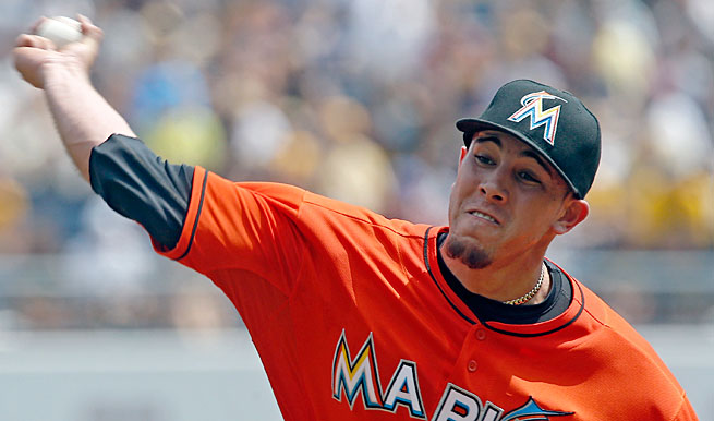 Jose Fernandez was the only bright spot in the Marlins' lineup last season...and those uniforms of course.