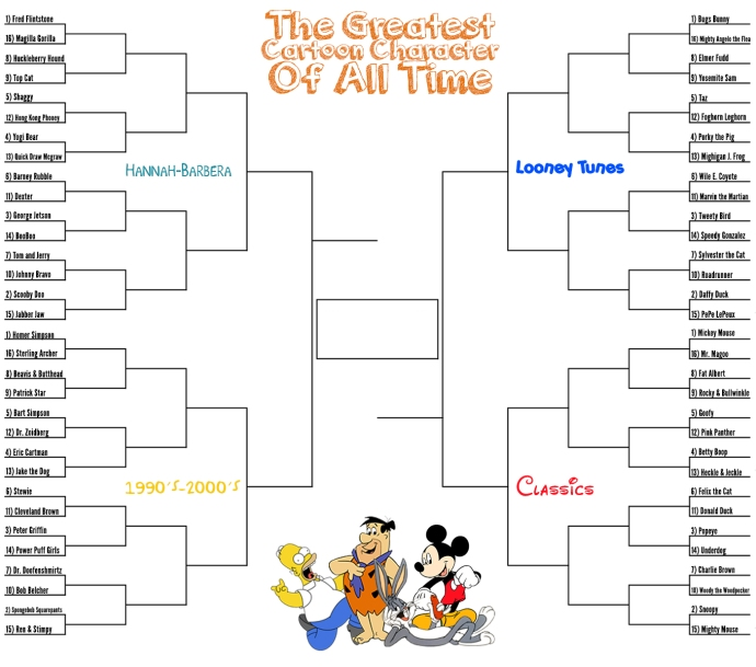 cartoon bracket