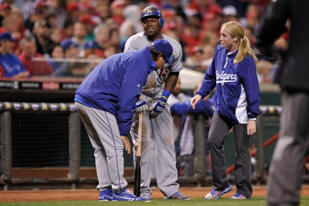 Injuries and age will be detrimental to the Dodgers this season. (Jamie Sabau/Getty Images)