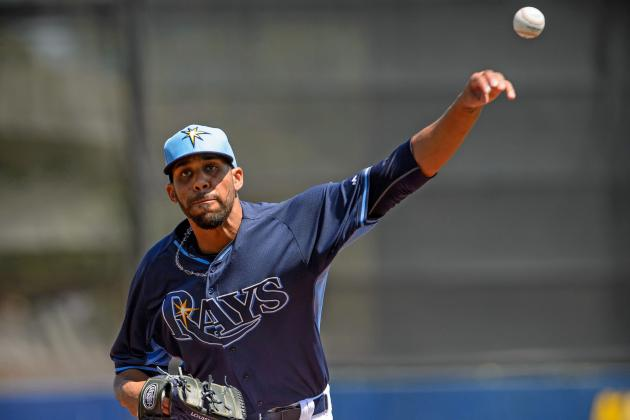 David Price was the subject of trade rumors this offseason, but nothing came of them, and he will stay in Tampa and lead one of the best pitching staffs in baseball. (Jerome Miron-USA TODAY Sports)