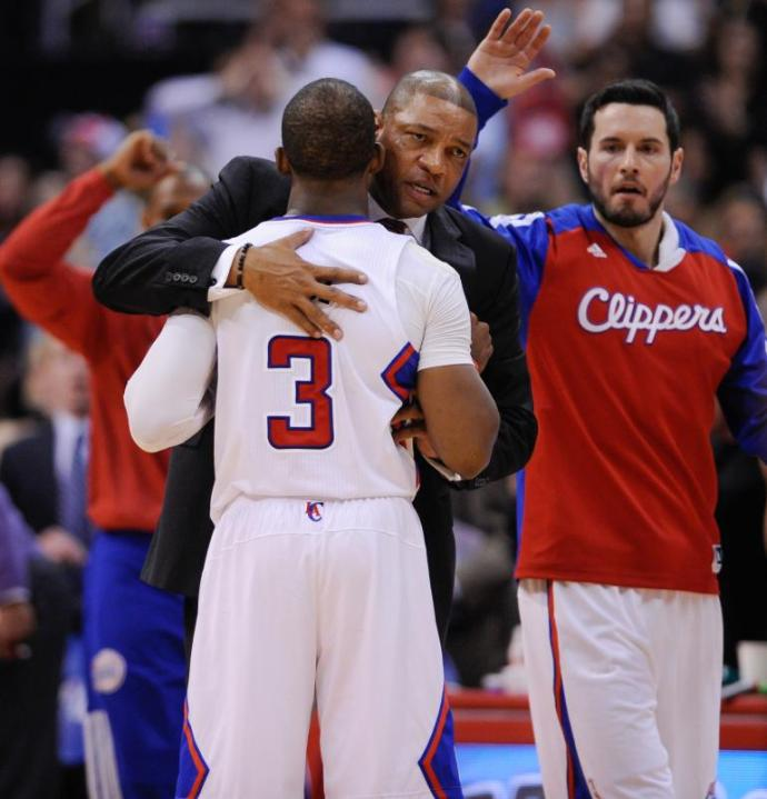 Doc Rivers is a father-figure to every player he's ever coached. (Robert Hanashiro-USA TODAY Sports)